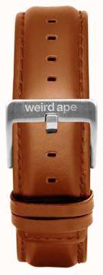 Weird Ape Skórzana, skórzana srebrna klamra o średnicy 20 mm ST01-000100