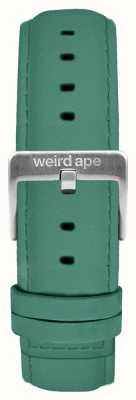 Weird Ape Jadeitowa zamszowa klamra z zamkiem 16mm w kolorze srebrnym ST01-000060