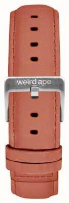 Weird Ape Różowa różowa zamszowa srebrna klamra z 16mm klamrami ST01-000052