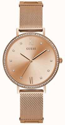 Guess Damska bransoletka z różowego złota z różowego złota W1154L2