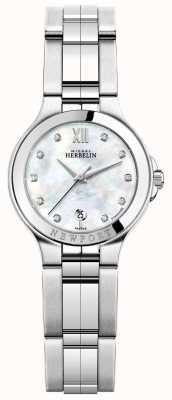 Michel Herbelin Damski zegarek ze stali nierdzewnej newport royale 14298/B89