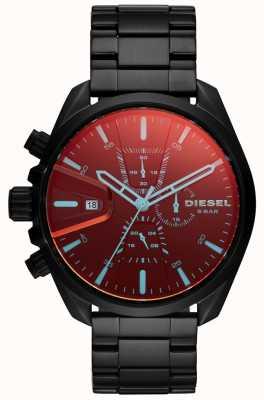 Diesel Mens ms9 zegarek opalizujący tarcza chronografu DZ4489