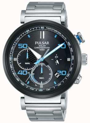 Pulsar Ex display - męski chronograf ze stali nierdzewnej PZ5065X1-EX-DISPLAY