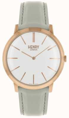 Henry London Kultowy biały skórzany pasek na ramię w kolorze różowym HL40-S-0290