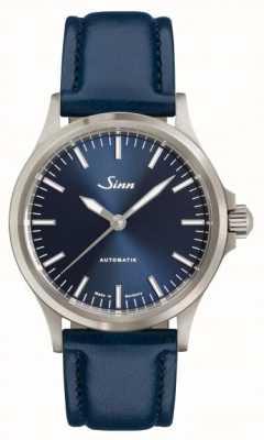 Sinn 556 ib niebieski pasek ze skóry wołowej 556.0104 BLUE COWHIDE STRAP