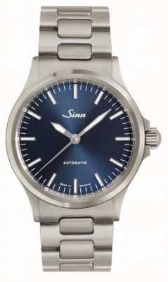 Sinn 556 ib metalowa bransoletka z niebieską tarczą 556.0104 LINK BRACELET