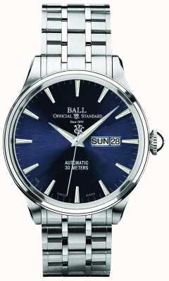 Ball Watch Company Trainmaster eternity blue dial automatyczne wyświetlanie dnia i daty NM2080D-SJ-BE