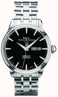 Ball Watch Company Wyświechtany zegar automatyczny Trainmaster eternity NM2080D-SJ-BK