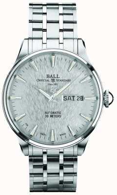 Ball Watch Company Trainmaster eternity Silver Dial automatyczny datownik NM2080D-S1J-SL