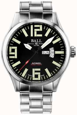 Ball Watch Company Inżynier master ii aviator automatyczne wyświetlanie dnia i daty NM1080C-S14A-BK