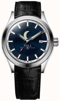Ball Watch Company Inżynier ii data fazy księżyca wyświetla niebieskie pokrętło NM2282C-LLJ-BE