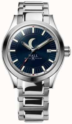 Ball Watch Company Inżynier ii datownik fazy księżycowej wyświetla bransoletę ze stali nierdzewnej NM2282C-SJ-BE