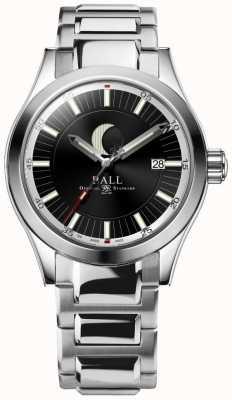 Ball Watch Company Inżynier ii datownik fazy księżycowej wyświetla bransoletę ze stali nierdzewnej NM2282C-SJ-BK