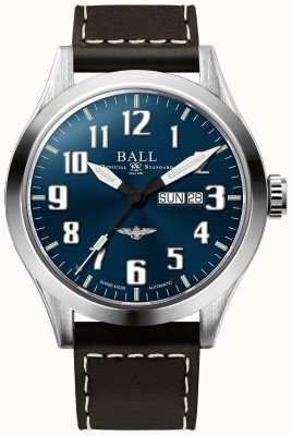 Ball Watch Company Engineer iii silver star niebieska tarcza dzień i data wyświetlania NM2180C-L2J-BE