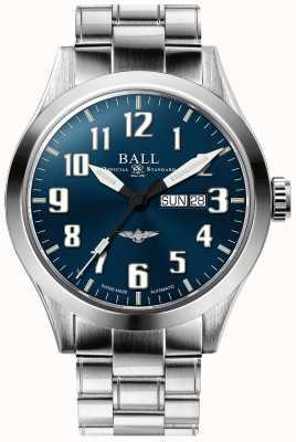 Ball Watch Company Engineer iii silver star niebieska tarcza dzień i data wyświetlania NM2180C-S2J-BE