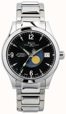 Ball Watch Company Fajerwerk automatyczny z czarnym zegarem w Ohio NM2082C-SJ-BK