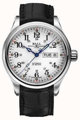 Ball Watch Company Trainmaster 60 sekund automatycznego wyświetlania dnia i daty NM1058D-LL3FJ-WH