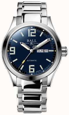 Ball Watch Company Engineer iii legenda automatyczne wyświetlanie daty i daty na niebieskim wyświetlaczu NM2028C-S14A-BEGR