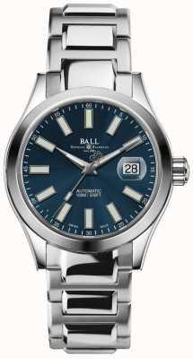 Ball Watch Company Inżynier ii marvelight automatyczne wyświetlanie daty wybierania niebieskiego NM2026C-S6-BE