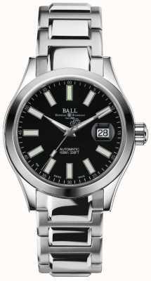 Ball Watch Company Inżynier ii marvelight automatyczny czarny wyświetlacz daty wybierania NM2026C-S6J-BK
