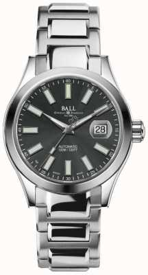 Ball Watch Company Męski zegarek Engineer II Marvelight z automatyczną szarą tarczą ze stali nierdzewnej NM2026C-S6J-GY
