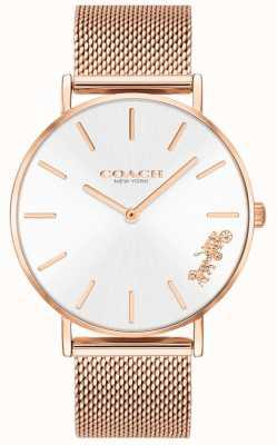 Coach Damski zegarek z perry z różowego złota 14503126