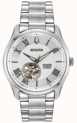 Bulova Męski automatyczny zegarek ze stali nierdzewnej wilton 96A207