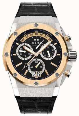 TW Steel Ace genesis edycja limitowana mężczyzna ace 103 chronograf czarny ACE103