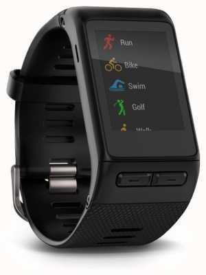 Garmin Vivoactive smartwatch hr black wbudowany w monitor pracy serca 010-01605-00