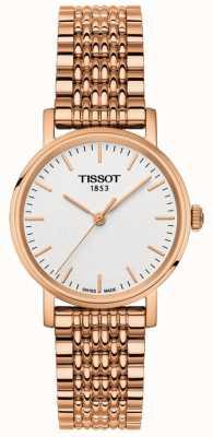 Tissot Damska za każdym razem pozłacana szara tarcza T1092103303100