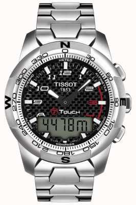 Tissot Męski T-Touch ii tytanowy chronograf alarmowy T0474204420700