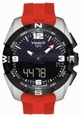 Tissot Męski chronograf słoneczny T-Touch Expert z tytanu T0914204705700