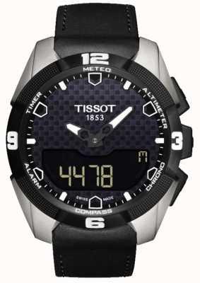 Tissot Męski chronometr typu T-touch chroniony przed słońcem tytanowym T0914204605100