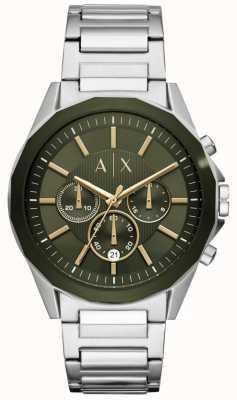 Armani Exchange Drexler męski chronograf ze stali nierdzewnej AX2616