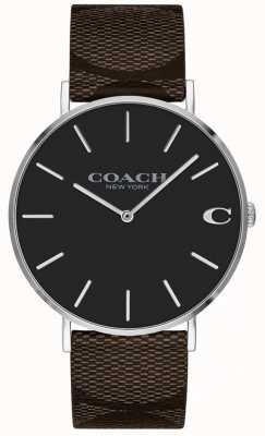 Coach Zegarek zegarka damska różowy jasny chłopak 1402156