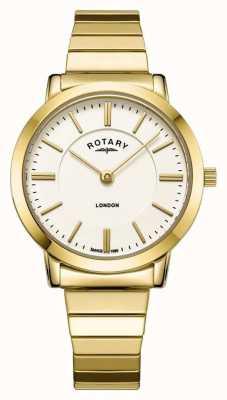 Rotary Damski zegarek ze stali nierdzewnej z brązu LB00766/03