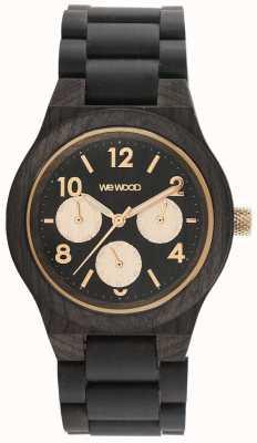 WeWood Zegarek Kyra z czarną różą 70371313000