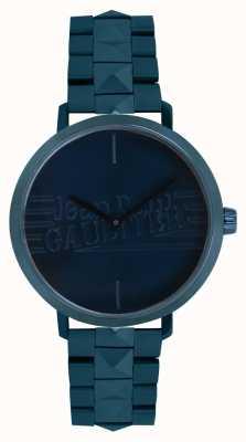 Jean Paul Gaultier Damska bransoletka zegarek niebieski dziewczyna zły 8505702