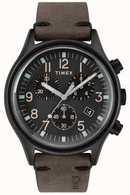 Timex Mens mk1 sst chrono 42mm czarna obudowa czarna tarcza TW2R96500