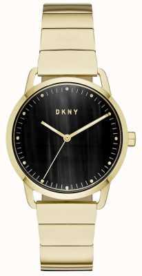 DKNY Damski granatowy pasek ze skóry NY2756