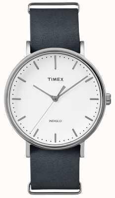 Timex Czarny pasek na rękę Fairfield 3 TWF3C8140UK