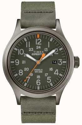 Timex Plecak z ekspedycją zielony pasek z tkaniny TW4B14000D7PF