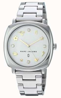Marc Jacobs Damski marc jacobs klasyczny zegarek złoty dźwięk MJ3572