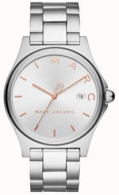 Marc Jacobs Damska henry ogląda srebrny odcień MJ3583