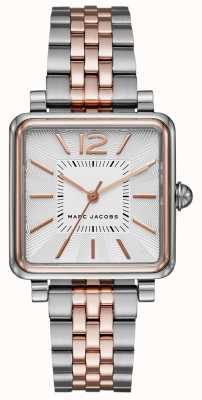 Marc Jacobs Zegarek damski zegarek dwukolorowe bransoletka z tarczą MJ3463