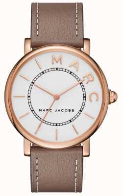Marc Jacobs Womens marc jacobs klasyczny zegarek szary skórzany MJ1533