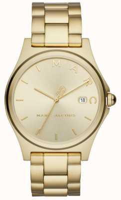 Marc Jacobs Damska henry ogląda złoty odcień MJ3584