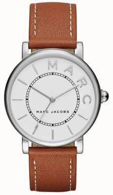 Marc Jacobs Womens marc jacobs klasyczny zegarek brązowy skórzany MJ1571