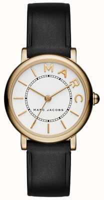 Marc Jacobs Womens marc jacobs klasyczny zegarek czarna skóra MJ1537