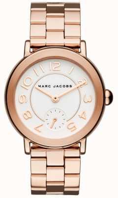 Marc Jacobs Damski zegarek riley w kolorze różowego złota MJ3471